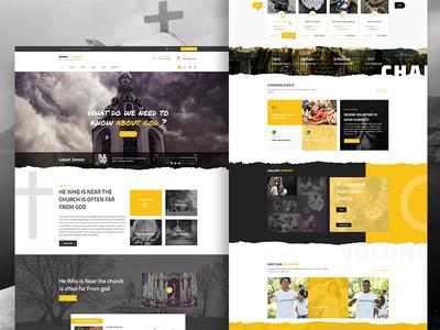 Crowdfunding, Church - Homepage