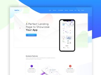 App Landing Homepage