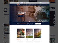 Factory & Industry Landing - Homepage