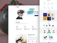 Creative Agency - Homepage