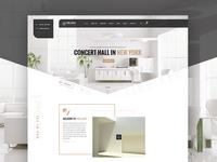 Interior Landing Homepage