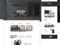 Interior - Home landing page