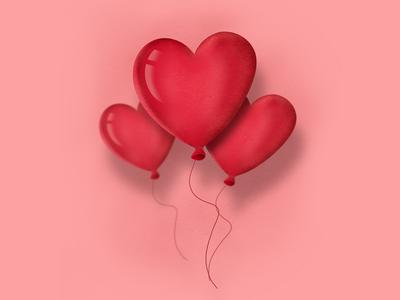 Happy Valentine 💕 (Valentines Dribbble Rebound)