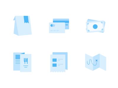 Restaurants dashboard illustrations pickup delivery illustrations restaurants icons