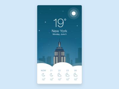 Weather app york new concept app weather