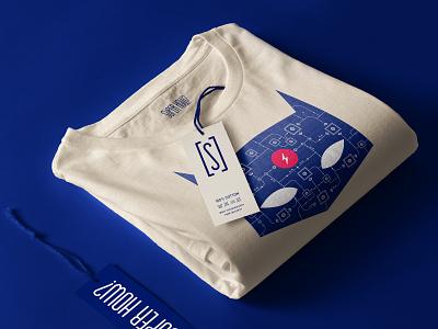 SUPER HOW? Super T-Shirt 👕 vector illustration identity lightning batman super superhero blockchain minimal branding art direction t-shirt illustration t-shirt design t-shirt