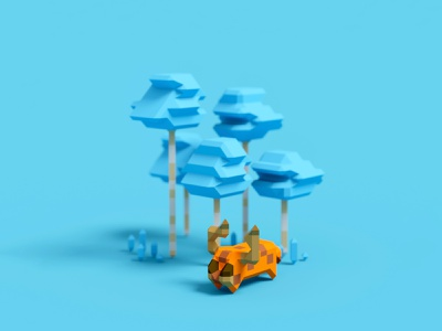 Fantasy Forest Voxel Art isometric illustration wallpaper isometric pixel art gameart inspiration illustration toy design cute 3d lego art voxels voxel art magicavoxel lowpoly 3d fantasy art voxel