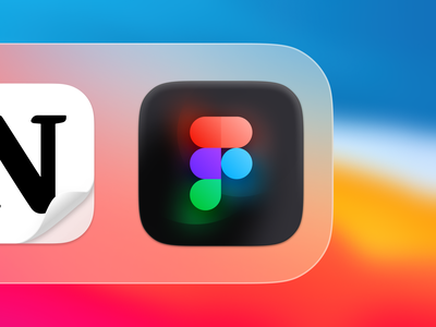 Figma Glow Icon - Mac OS Big Sur blur bevel 3d glow gradients figma design mac os icon freebie mac app app app icon skeuomorphism big sur icon figma icon figma big sur mac os