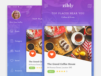 Zibly_Food Discovery App WIP