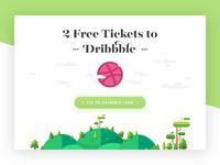 2 Free Dribbble Invites