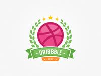 Dribbble Badge
