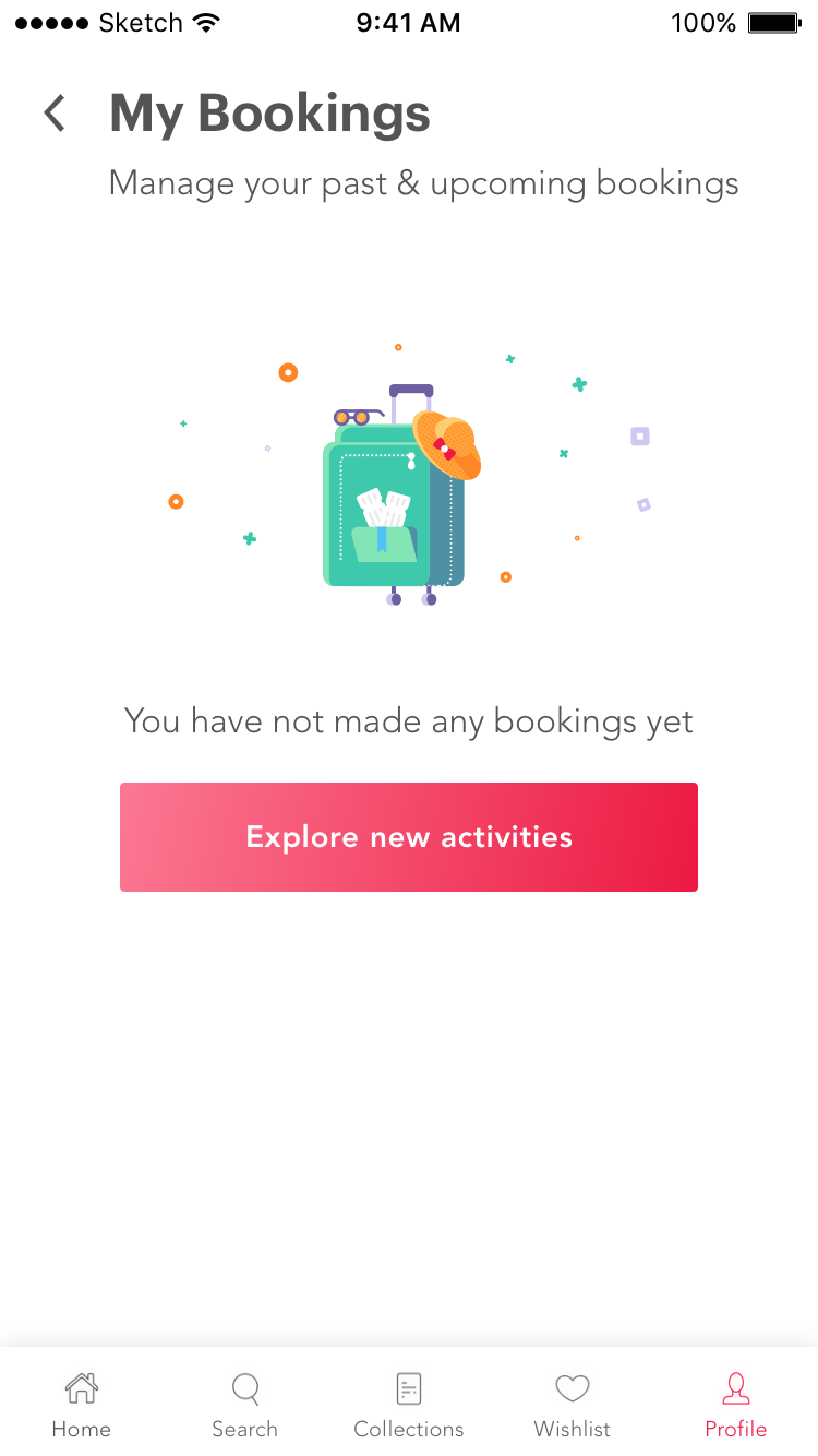 My bookings empty state attachment 2