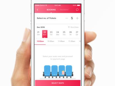 Mobile Seatmap Variants