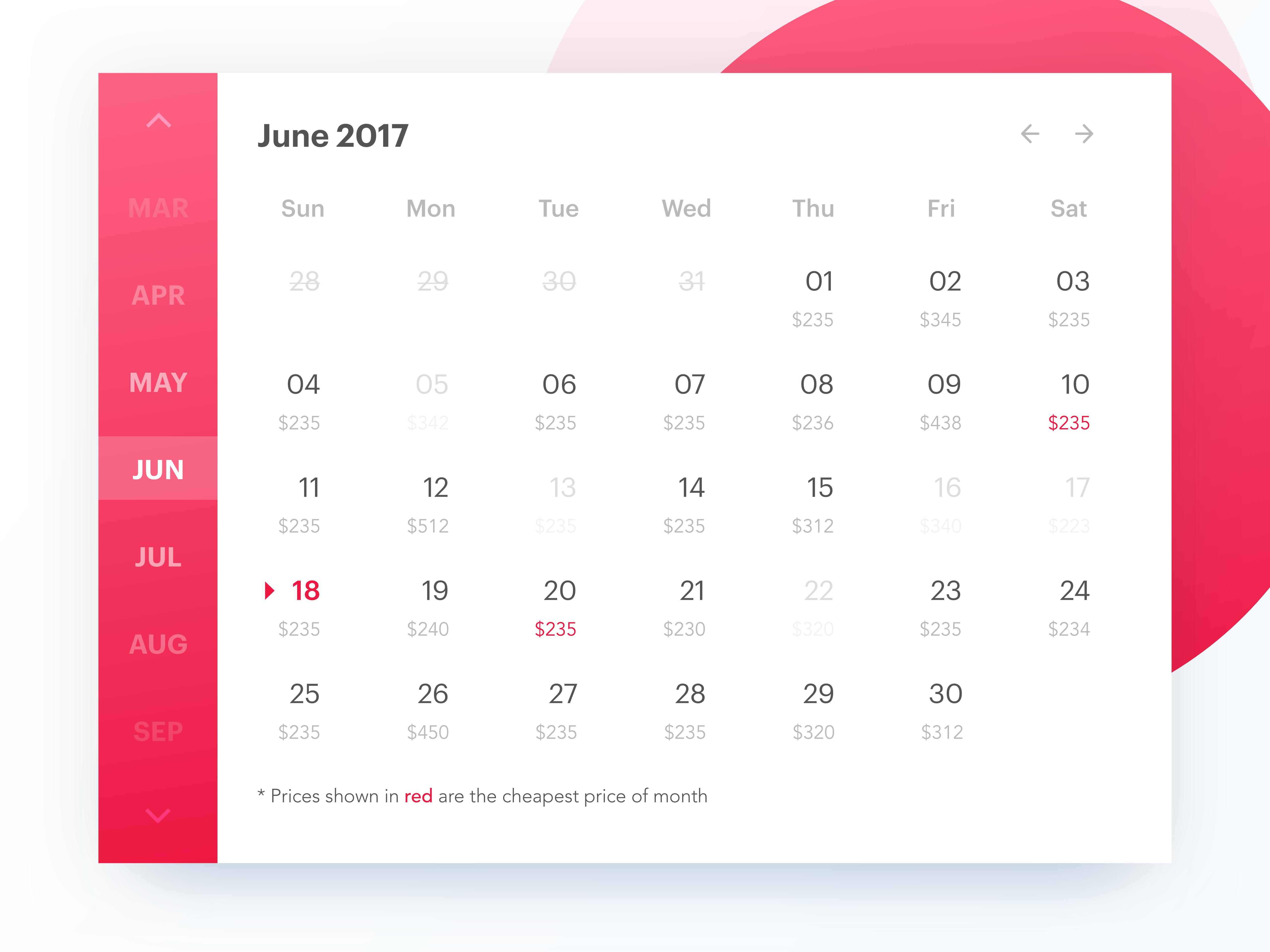 Desktop calendar attachment