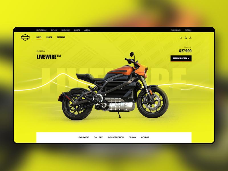 Harley-Davidson Ui Concept Shot