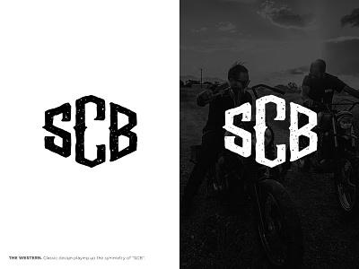 Salt City Builds Logo Concept lettering branding process scb motorcycle concept logo builds city salt