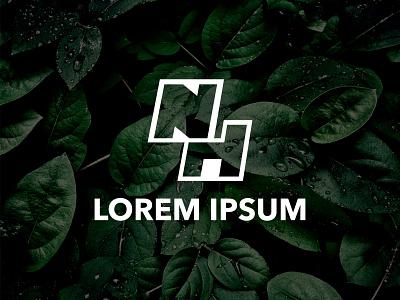 N H Latter Logo design latter logo professional logo web ux ui typography branding abstract vector icon design logo