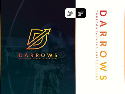 D Arrows Abstract Logo Design arrows logo arrows d logo design latter minimal flat web app ux ui branding abstract vector logo