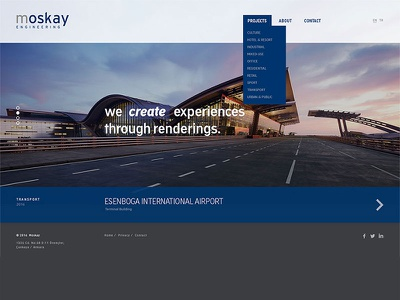 Moskay Engineering design web