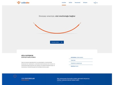 Cableako design web