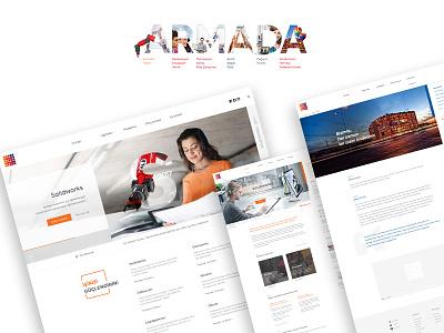 Armada Software web development web design