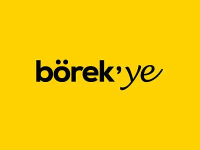 Börek'ye identity corporate