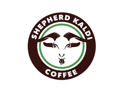 Shepherd Kaldi Coffee branding logo company identity