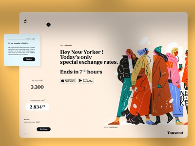 Hey New Yorker 👌 Special exchange rates. mobile