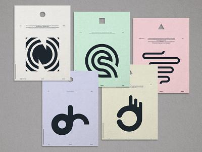 Five logos branding