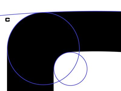 Letter C. Fragment