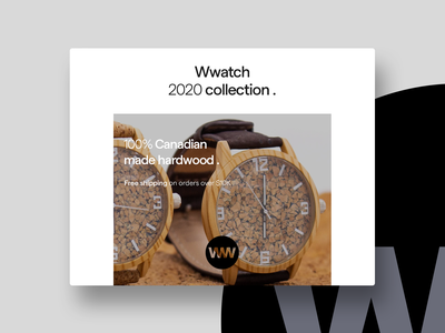 Wwatch 2020 collection. Concept & Logo