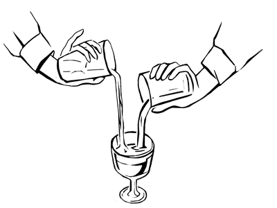 Illustration for Bacardi Bar 1 painting draw design illustration