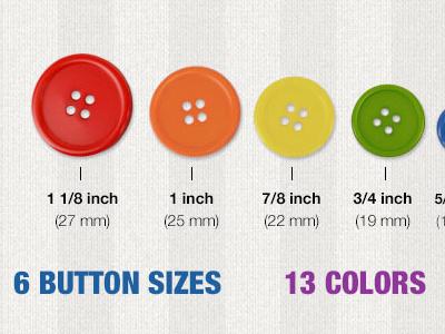 Bulk Buttons Banner banner ecommerce buttons colors fun design photoshop