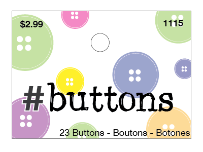 Packaging Header illustrator fun colorful buttons packaging