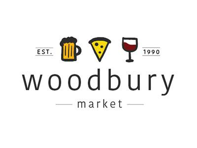 Woobury Market Logo food vector hand drawn logo