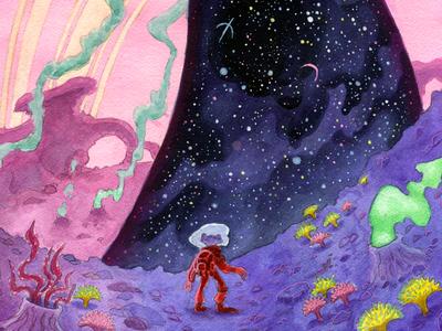 Star Frog's Encounter