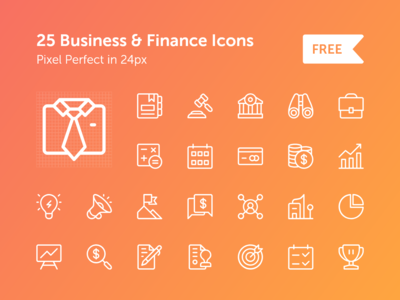 Business and Finance Icon Set free icons finance icon business icon free icon set
