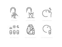 Instructional Icons