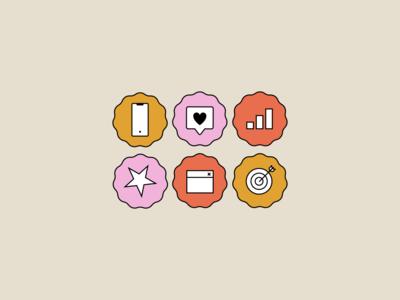 In Good Light Digital Marketing Iconography icons pack icon set iconset icon design digital marketing icons digital marketing icons iconography agency website typography agency logo agency branding vector design illustration branding