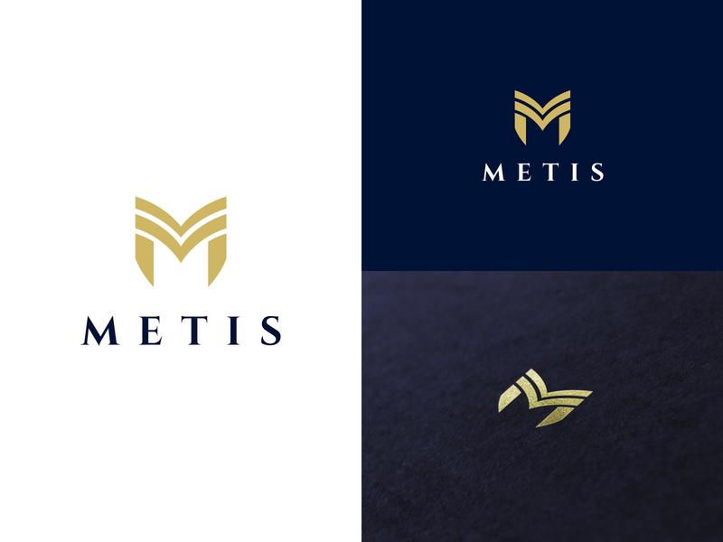 Metis brand design branding greek mitologia estrategia letter sofisticado sabiduria politica political