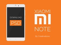 Xiaomi Mi Note PSD Download