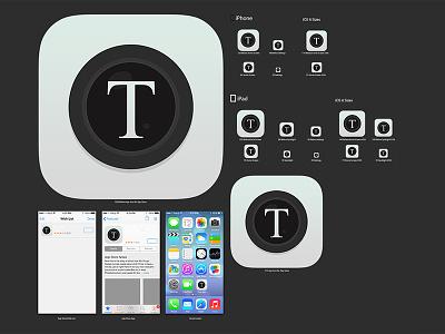 Text 2 Camera iOS App creativeboxx boxx creative app camera text ios design ux ui