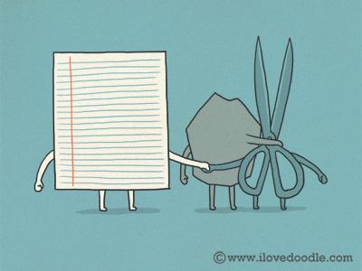 Triangle Love rock paper scissor love fight complicated illustration doodle funny smile lol fun simple
