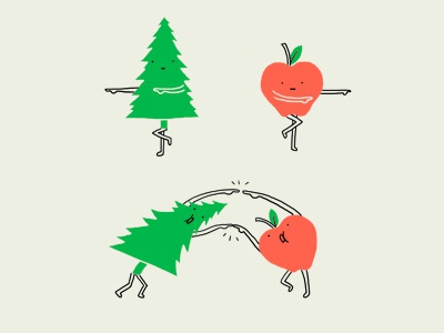Unite pine apple unite funny lol cute simple wall art