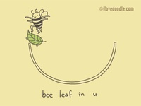 Bee Leaf in U