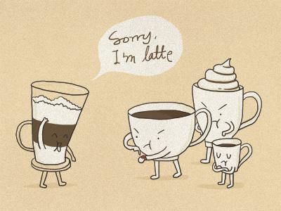 Sorry i m latte