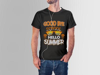 Custom Summer T-shirt design