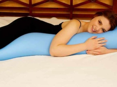 Pillow for Hip Pain by Carlton Mar on