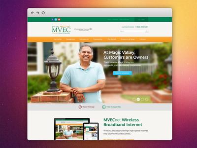 MVEC Website Proof