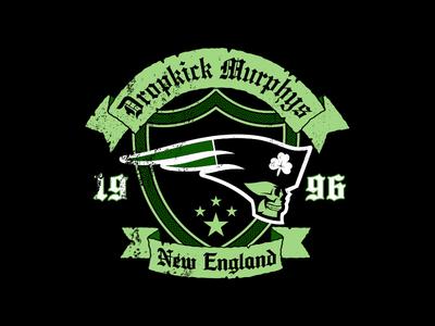 Dropkick Murphys x New England